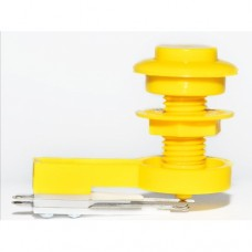 Button with blade - Yellow