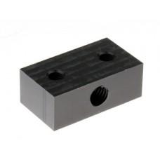 Lead Screw Block, 8mm, Delrin